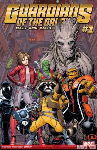 Guardians of the Galaxy - okładka