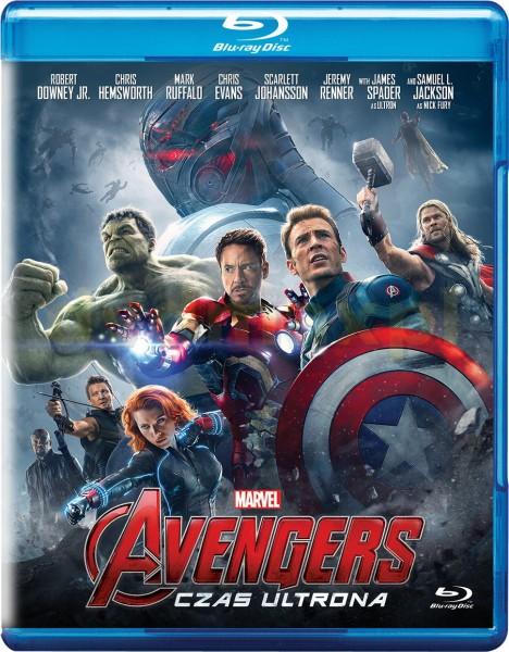 avengers czas ultrona - okładka blu-ray