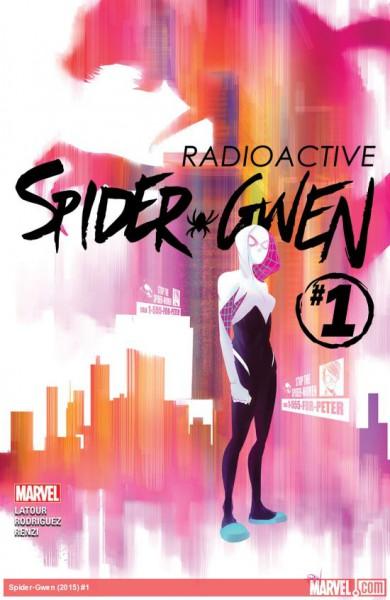 spider-gwen - okładka