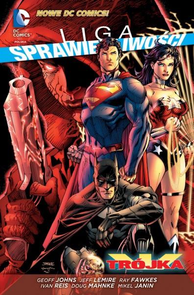 Liga Sprawiedliwości #4: Trójka - okładka