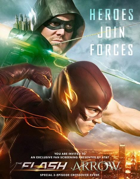 Arrow, The Flash - crossover