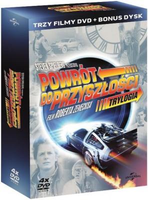 Trylogia Powrót do przyszłości - DVD
