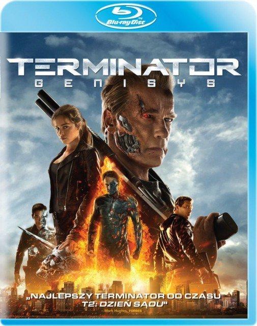 Terminator Genisys - okładka Blu-ray