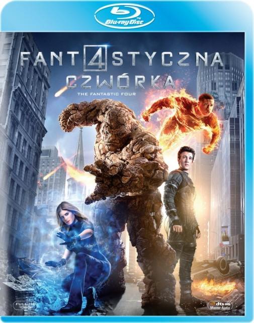 Fantastyczna czwórka - Blu-ray - okładka