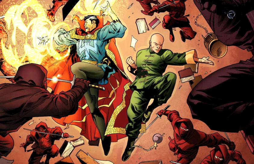 Wong z komiksów Marvela