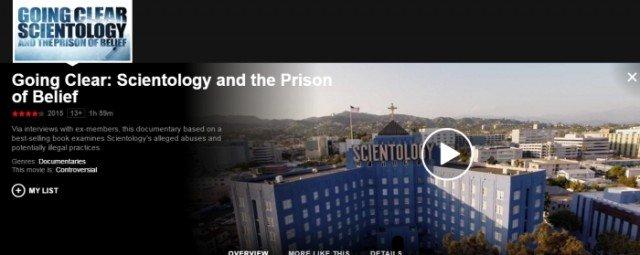 Dokument o Scjentologach na Netflixie
