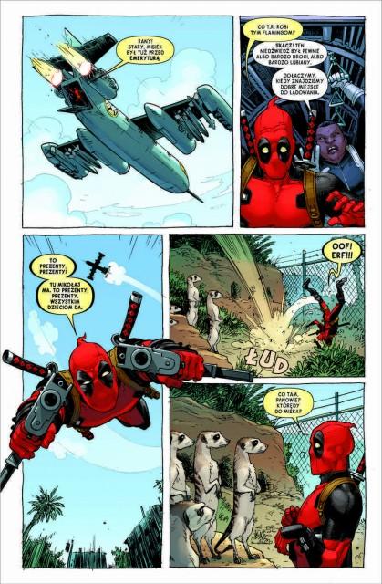 Deadpool. Martwi prezydenci - plansza