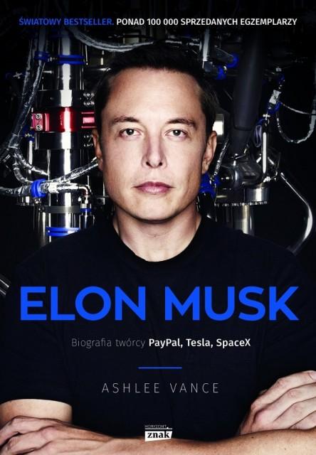Elon Musk biografia - okładka