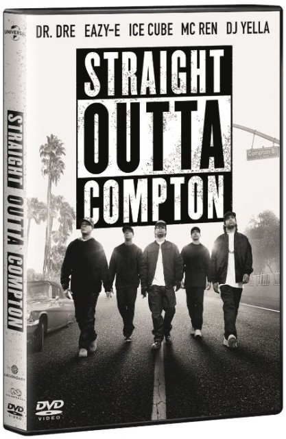 Straight Outta Compton - okładka DVD