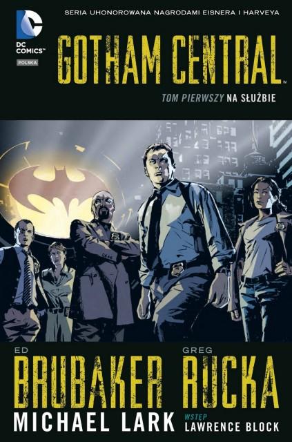 Gotham Central. Na służbie - okładka