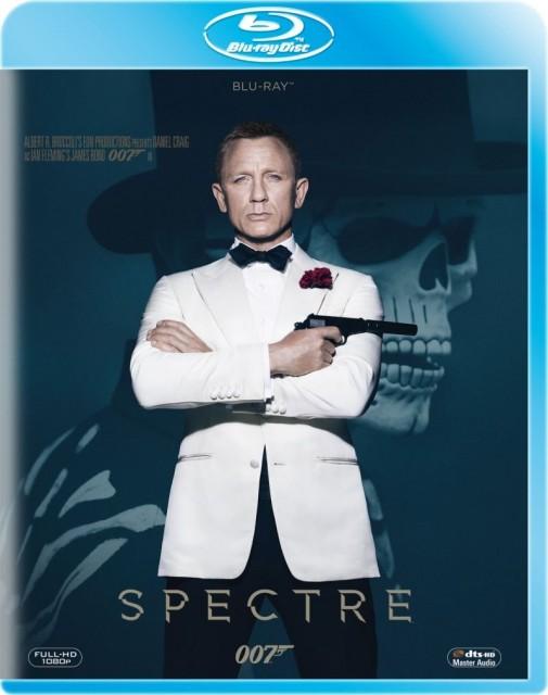 Spectre - okładka Blu-ray