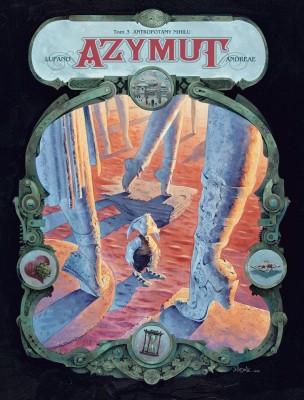 Azymut #03: Antropotamy Nihilu - okładka