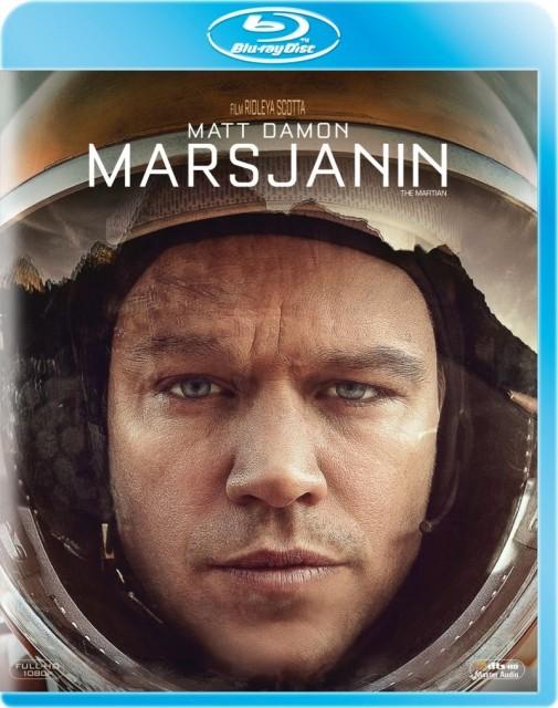 Marsjanin - okładka Blu-ray