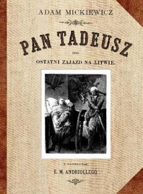 pan tadeusz - okładka