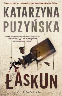 Łaskun - okładka