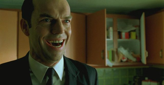 Agent Smith z Matrixa - Hugo Weaving