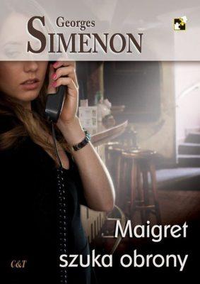 Maigret szuka obrony - okładka