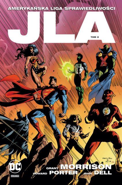 JLA. Amerykańska Liga Sprawiedliwości #03 - okładka