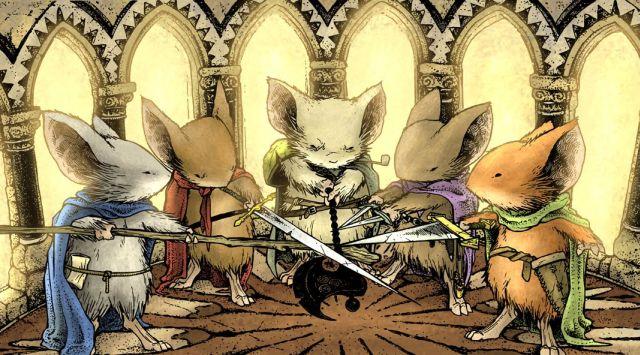Powstanie ekranizacja komiksowej serii Mouse Guard