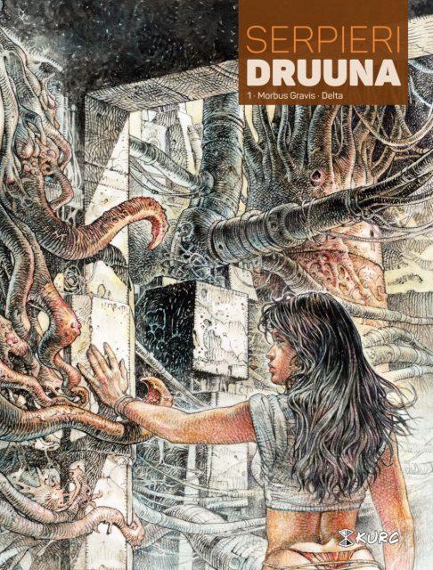 Druuna, tom 1 - okładka