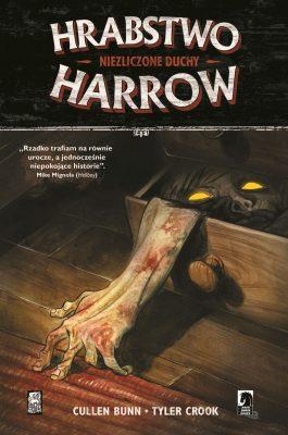 Hrabstwo Harrow. Niezliczone duchy - okładka