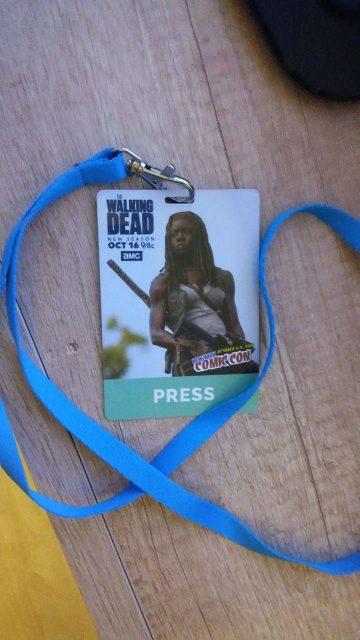 New York Comic-Con - akrekdytacja