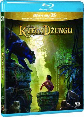 Księga dżungli - okładka Blu-ray