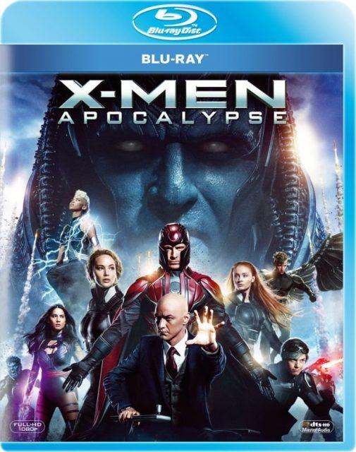 X-Men: Apocalypse - okładka Blu-ray