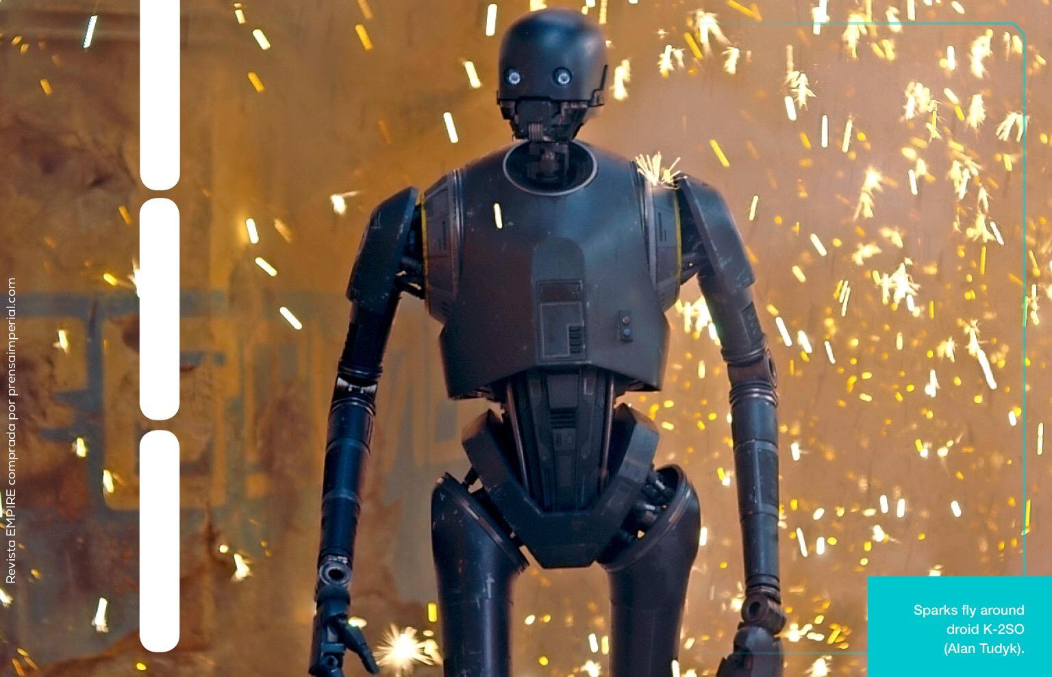 Ciekawostki o Łotr 1: Alan Tudyk jako K-2SO. Jak tworzono droida?