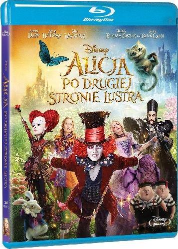 Alicja po drugiej stronie lustra - okładka Blu-ray