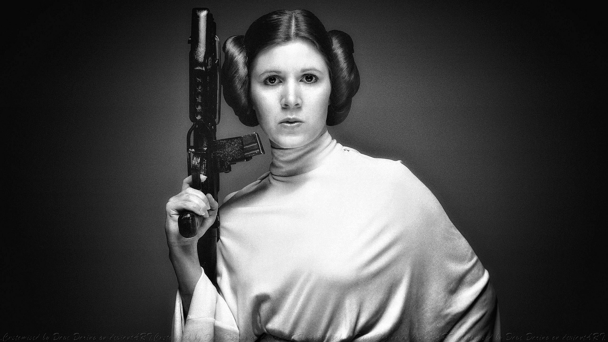 Carrie Fisher – nie tylko księżniczka
