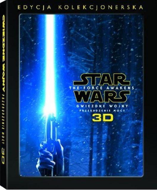 Gwiezdne Wojny: Przebudzenie Mocy - okładka Blu-ray kolekcjonerskiego