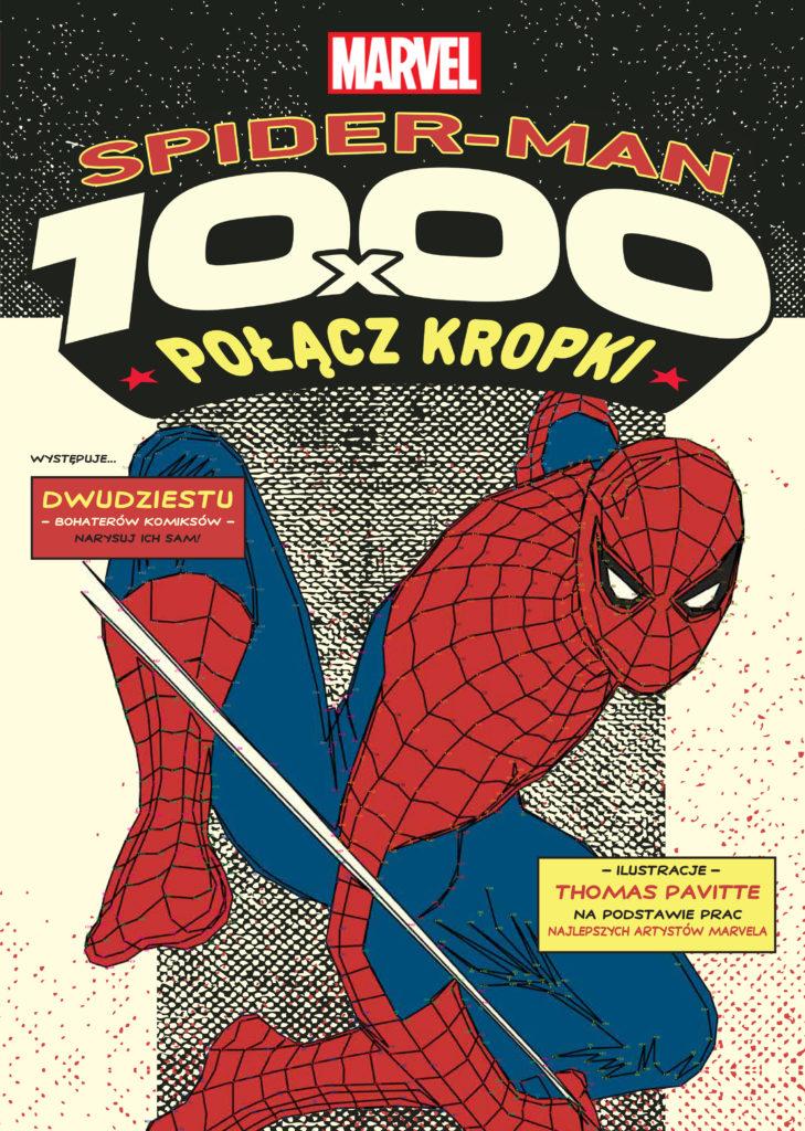 1000x połącz kropki. Spider-Man
