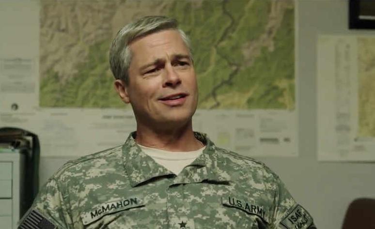 Brad Pitt w drugim zwiastunie War Machine, nowego filmu Netflixa