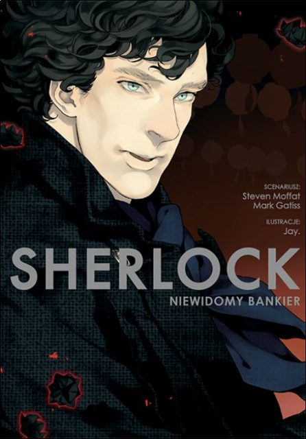 Sherlock - manga - okładka
