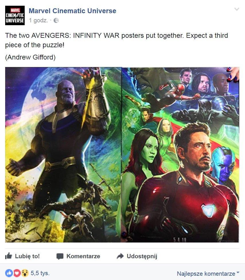 Sdcc 2017 Thanos Z Rękawicą Nieskończoności Nowy Plakat