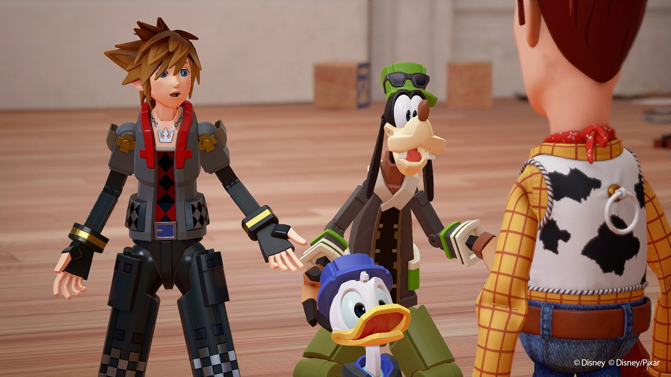 [D23] W Kingdom Hearts III trafimy do świata Toy Story