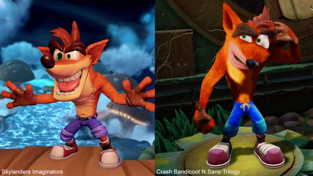 Crash w Skylanders Imaginators i N.Sane Trilogy