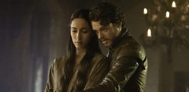 Robb i Talisa Stark - Gra o tron