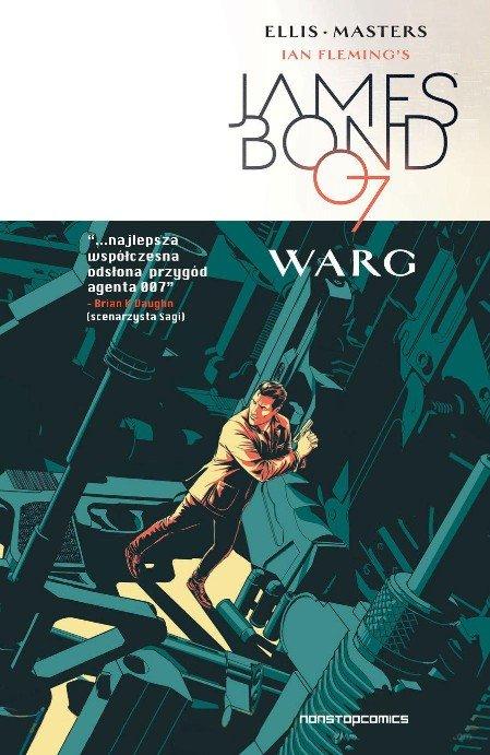 James Bond. Warg - okładka
