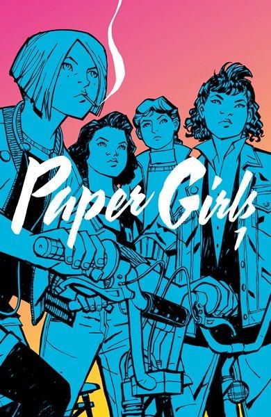 Paper Girls - okładka