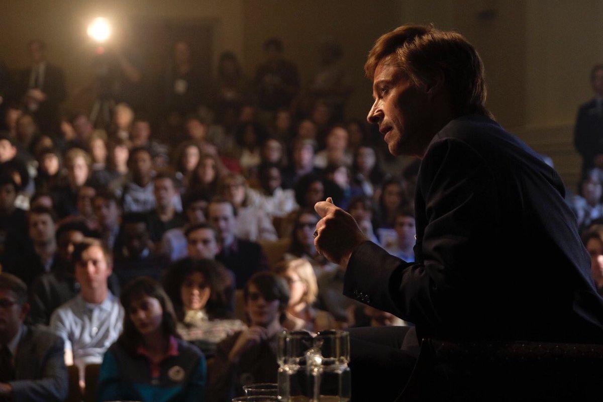 Hugh Jackman idzie po Oscara. Zwiastun The Front Runner