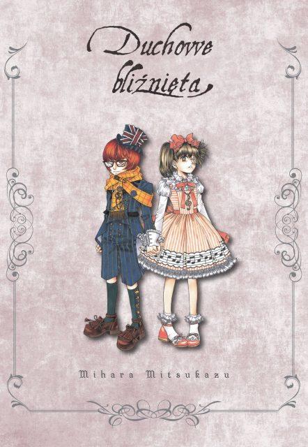 Duchowe bliźnięta - okładka mangi