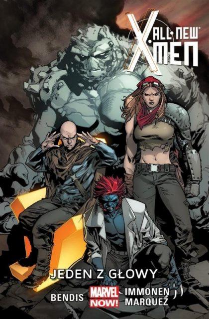 All-New X-Men. Tom 5. Jeden z głowy - okładka
