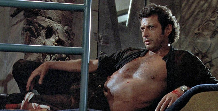 Jeff Goldblum wyjaśnia kulisy słynnej sceny z rozpiętą koszulą w Parku Jurajskim