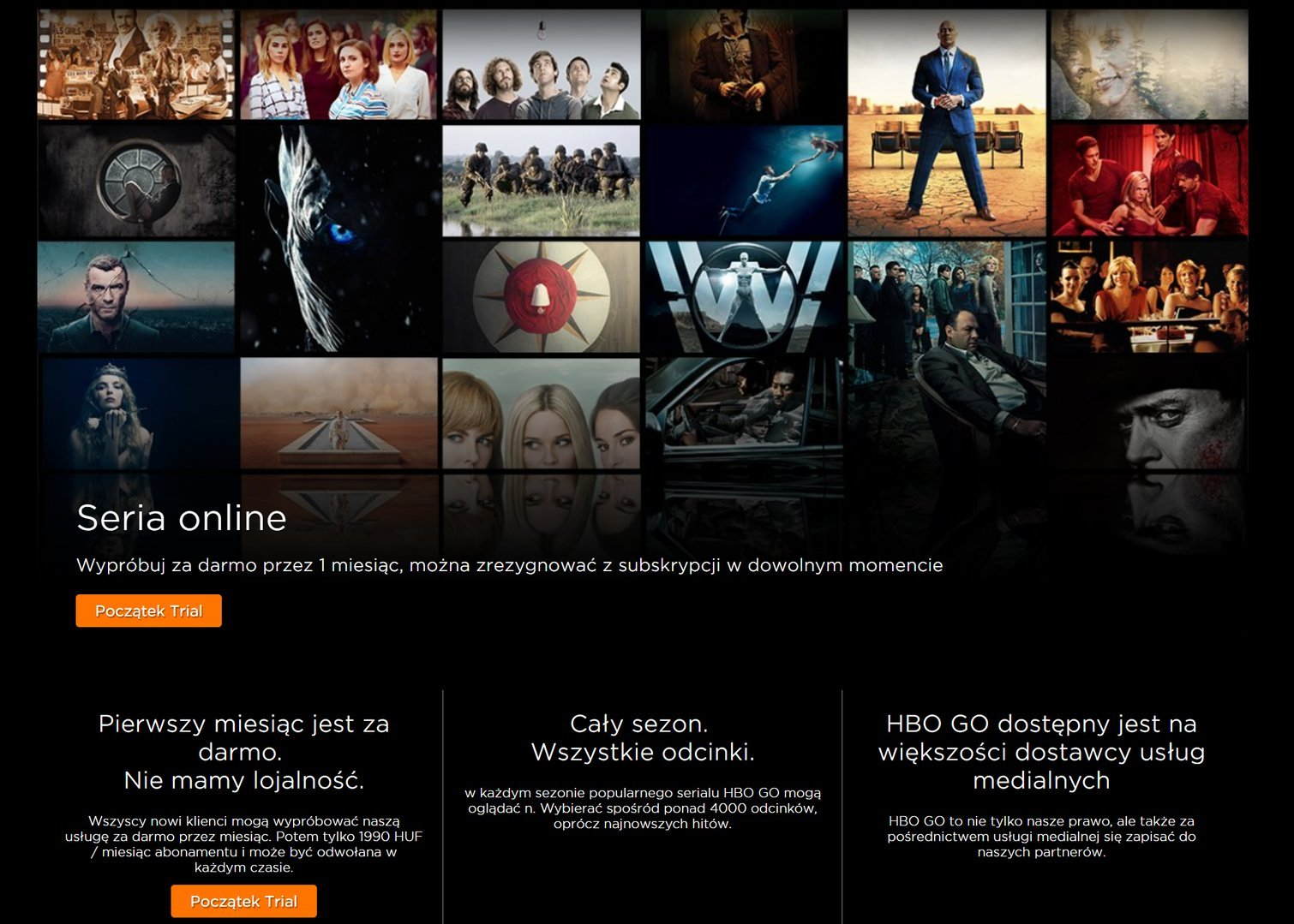 HBO GO - Węgry
