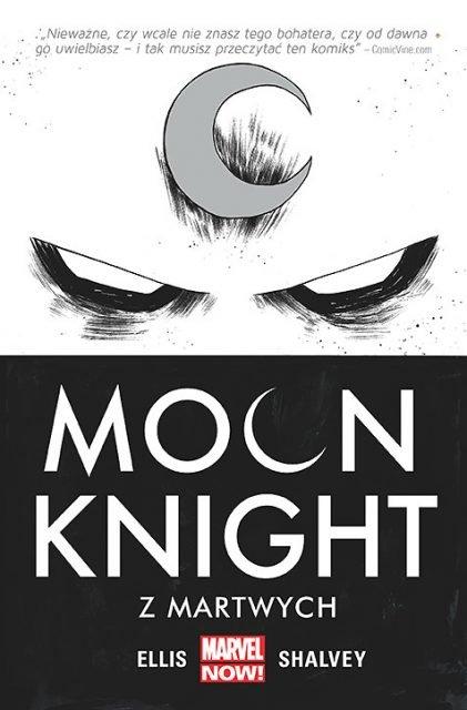 Moon Knight - Z martwych - okładka