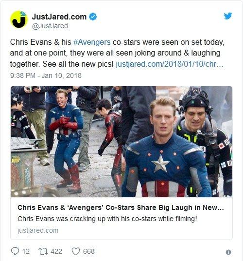 Avengers 4 - zdjęcie z planu