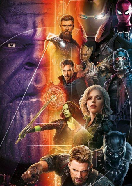 Avengers Wojna Bez Granic Superbohaterowie Na Nowym Plakacie