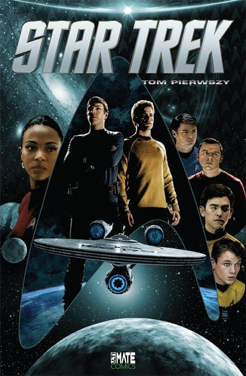 Star Trek. Tom 1 - okładka